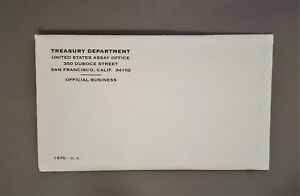 1970 Silver - P D S - 10 COINS US MINT SET in Genuine US Mint Envelope Unopened