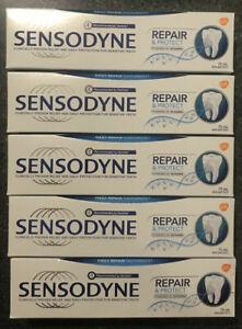 5 PACK Sensodyne Repair & Protect NOVAMIN Daily Repair Toothpaste 75ml Canada