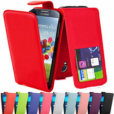 NEW PU LUXURY LEATHER FLIP WALLET CASE COVER FOR VARIOUS SAMSUNG GALAXY MODELS