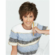 Short Curly Wigs Dark Brown Cosplay Party Wig Daily Wig Natural as Real Hair