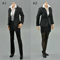 ZY Toys 1/6 Office Lady Shirt Suit Pants Skirt Set For 12'' Female Figure Body