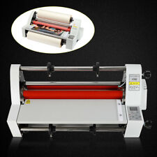 13 350mm Hot Cold Roll Laminator Hot And Cold Roll Laminating Machine Us 110v