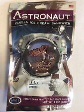 12 Packs Astronaut Vanilla Ice Cream Sandwich Space Food NASA  FREE SHIPPING