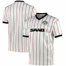 Kitbag Manchester City 1982 Away Football Short Sleeves Sport Tee T-Shirt Top