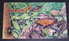 2007 Malaysia Insects Butterflies Beatles Moths Mini-Sheet Mint NH
