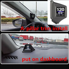 2020 Car Speed Projector Windshield Head Up Display GPS Speedometer OBD + GPS