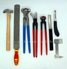 Râpes et outils de maréchalerie