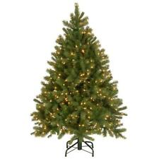 Christmas Tree Artificial Douglas Fir 4.5 foot clear lights