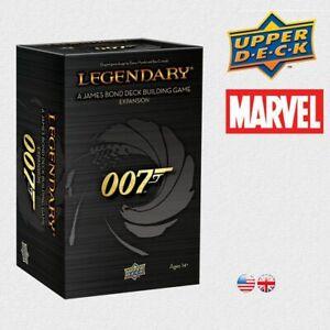 UPPER DECK - James Bond 007 - Legendary Deck Building Game Expansion NEU & OVP!