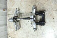 02 Harley Davidson XL 883 Sportster triple tree front fork shock mount bar clamp