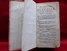 ANTICA PUBBLICAZIONE: RACCOLTA DI OPERE DI PIETRO METASTASIO ANNO 1800
