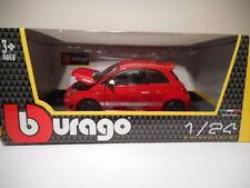 Véhicules miniatures Rouge Burago sous boîte fermée 1:24