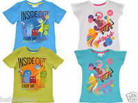 BOY/GIRL FULLY LICENSED OFFICIAL DISNEY INSIDE OUT T SHIRT/TOP 4 5 6 7 8 9 YEARS