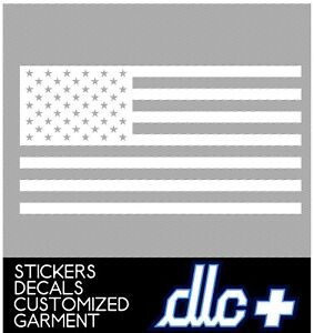 American Flag window lettering windshield graphics vinyl decal sticker