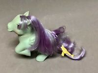 1987 My Little Pony Sundae Best PEPPERMINT CRUNCH Ice Cream Cone with Barrette