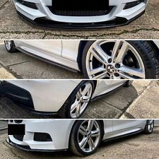 BMW 1 SERIES F20/F21 M-SPORT PRE FACELIFT (11-15) LOW LINE SPLITTER SET