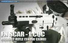 Academy FN SCAR-L CQC [SNOW CAMO] Airsoft Gun Rifle #17112