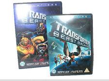 TRANSFORMERS toy figures BEAST MACHINES Cartoon dvd volumes 1 & 2 set