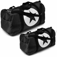 "Black Duffle Bag Star Sport Gym Carry-On Travel Luggage Tote HandBag 36""/24""/18"""