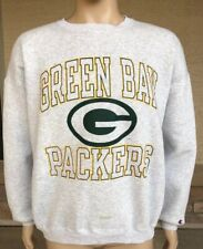 Vintage 90s Green Bay Packers Crewneck Sweatshirt NFL Champion USA Made Size XL