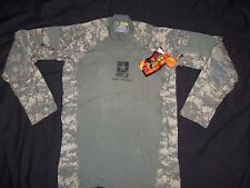 MASSIF GEAR COMBAT SHIRT X LARGE nwt & ARMY LOGO ACU DIGITAL CAMO USA MILITARY y