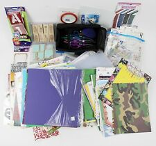 Huge mix Scrapbooking Lot Stickers jolees boutique & Paper Stamps, Scissors More