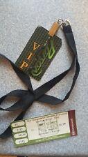 Poison vip and lanyard Bret Michaels ticket stub Nov 12 2010 Custom Built tour