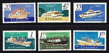 Romania 1961 Ships Stamps  MNH