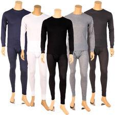 Mens 2pc Thermal Underwear Set Long Johns Waffle Knit Top Bottom S M L XL 2X 3X
