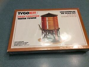 Tyco 7769 HO Snap-Together Water Tower Building Kit