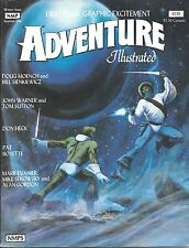 Adventure Illustrated Magazine Issue #1 Doug Moench Bill Sienkiewicz Don Heck