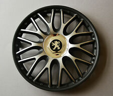 "14"" Peugeot 106,107,206,306,Partner... Wheel Trims / Covers, Hub Caps,black&silv"