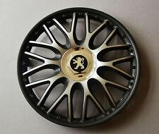 "14"" Peugeot 106,107,206,306,Partner... Wheel Trims / Covers, Hub Caps,black&silv"