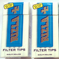 600 x RIZLA 5mm ULTRA SLIM FILTER TOBACCO BACCY QUALITY TIPS PRE-CUT CIGARETTE