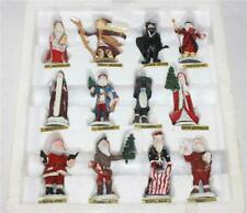 Duncan Royale Pewter Miniature Collection History of Santa 2nd/500 Le Set of 12