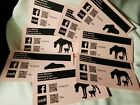 8 Lot Super Rare 2005 First Year Social Media Veterinary Review Opinion Cards