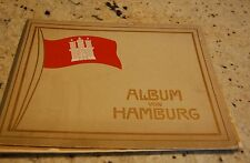 "Pre WWI  Photo Album Of Hamburg Germany 14 x 11"", 32 pages"