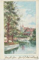 CSSR ÖLMUTZ Maria-Schneekirche vom Hradischer Falle aus gesehen ; ca. 1920