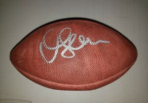 Chargers Junior Seau Authentic Signed Youth Official NFL football Beckett COA