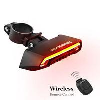 RockBros Bike Bicycle Tail Light Smart Wireless Remote Control Turn Signal