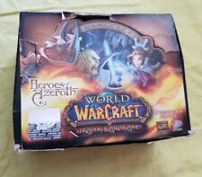 World of Warcraft WOW TCG  Heroes of Azeroth Booster Box 390 + cards
