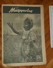New listing 1943 WWII HUNGARY ARMY MAGAZINE NEWSPAPERS MAGYAR ERO CROATIA SERBIA SPORT GAMES