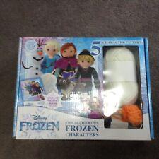 New Disney Frozen Character Crochet Kit