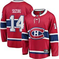 Мужские Монреаль Канадиенс Ник Suzuki красный отсоединяемый игрока хоккей НХЛ Джерси