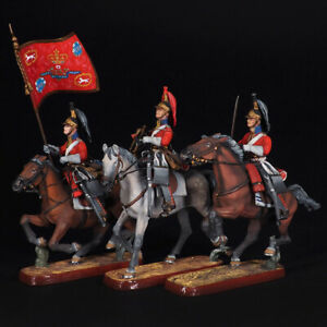 Tin soldier, The 1st Royal Regiment of Dragoons 1815, set of 3 miniatures 54 mm