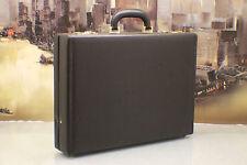 i Santi Italy Vintage Leather Hard Case Professional Briefcase Bag Mens