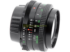 Minolta MD Obiettivo Vivitar Auto Wide Angle 28mm f2,8. Utilizzabile su digitali