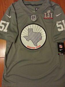 Nike Super Bowl LI 51 TX Limited Jersey Falcons Patriots Sz L (848378-039)