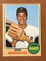 1968 Topps Juan Marichal Card #205 EX-MT HOF San Francisco Giants