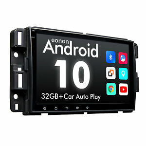"""4-Core Android 10 8"""" Car Dash GPS Radio Stereo for Chevrolet Avalanche 2007-2013"""